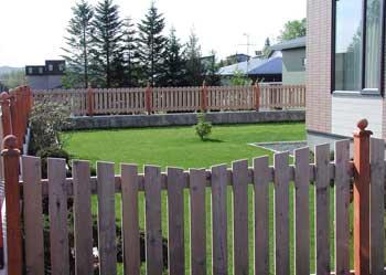 ウッドフェンス施工例