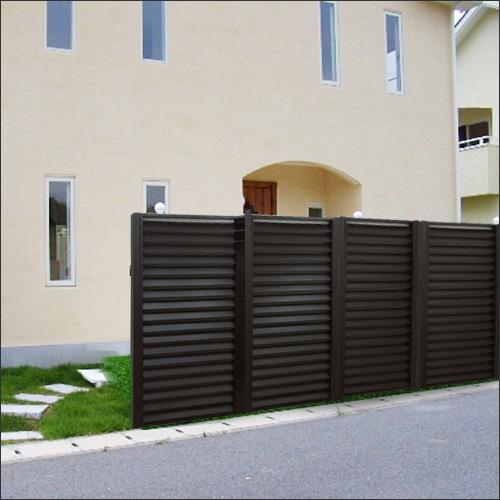アルミの組立フェンス