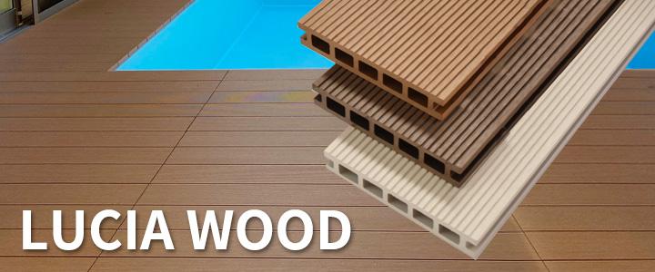 人工木材ルチアウッド
