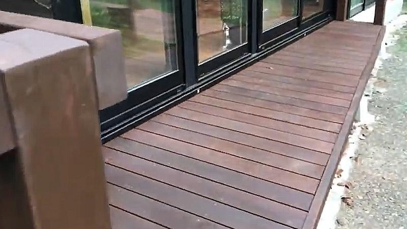 動画で見る ウッドデッキ作製後の屋外家具・知識